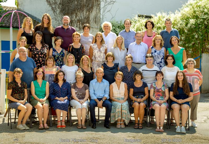 Equipe éducative 2019-2020