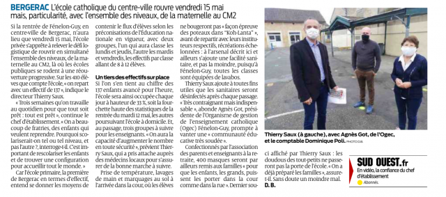 Sud ouest 13.05